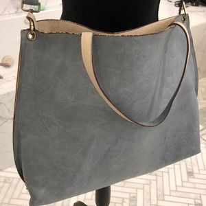 Free People Tote with Crossbody